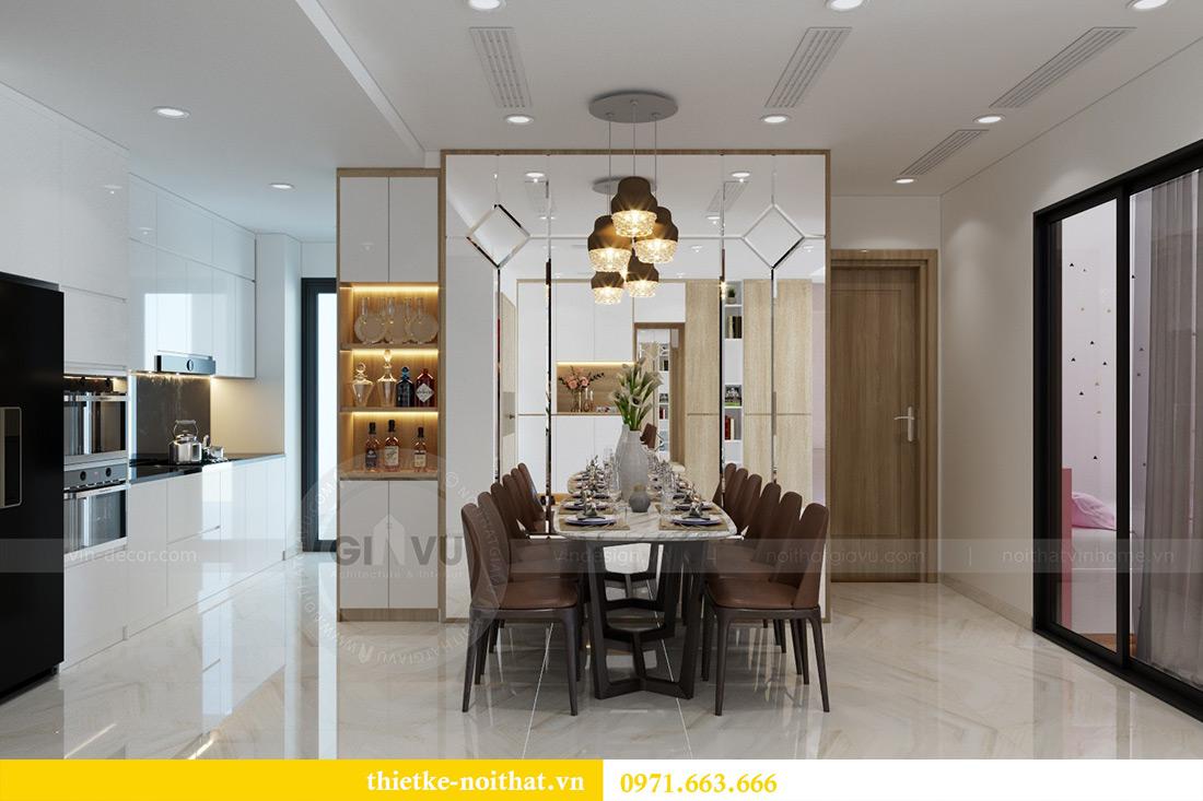 Thiết kế nội thất chung cư Mandarin Garden căn 3 ngủ nhà anh Yên 5