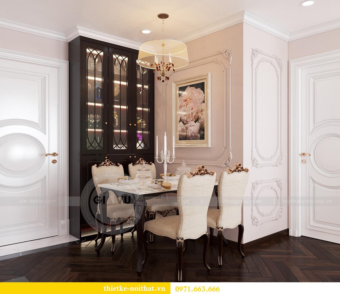 Thiết kế nội thất chung cư Vinhomes Mễ Trì căn 05 tòa G1 chị Lan 1