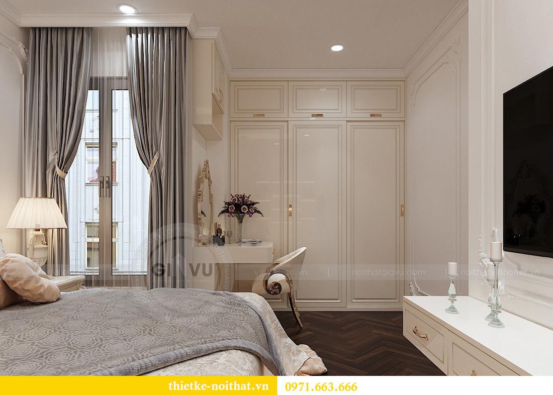 Thiết kế nội thất chung cư Vinhomes Mễ Trì căn 05 tòa G1 chị Lan 10