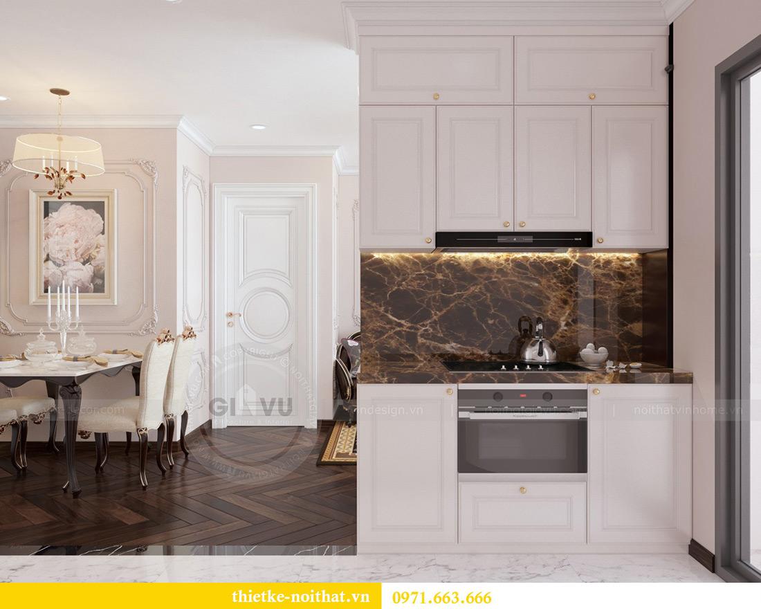 Thiết kế nội thất chung cư Vinhomes Mễ Trì căn 05 tòa G1 chị Lan 2