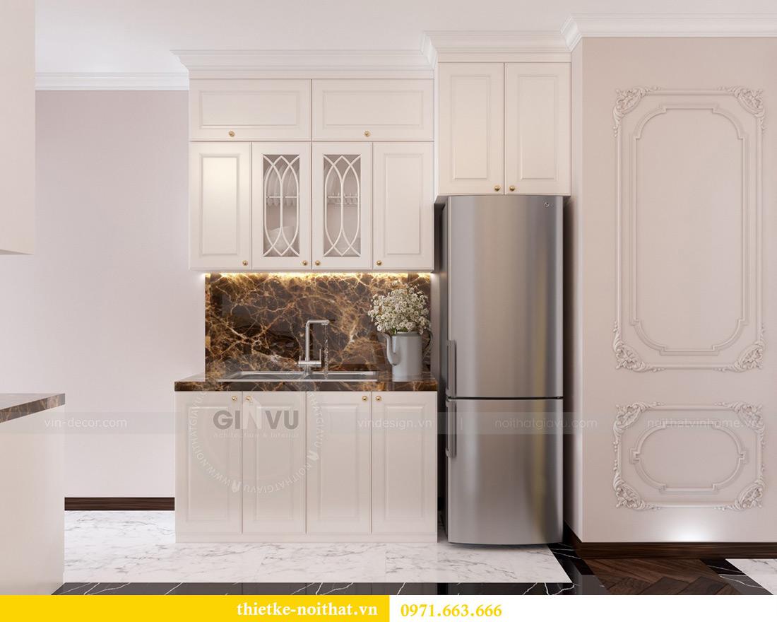Thiết kế nội thất chung cư Vinhomes Mễ Trì căn 05 tòa G1 chị Lan 3