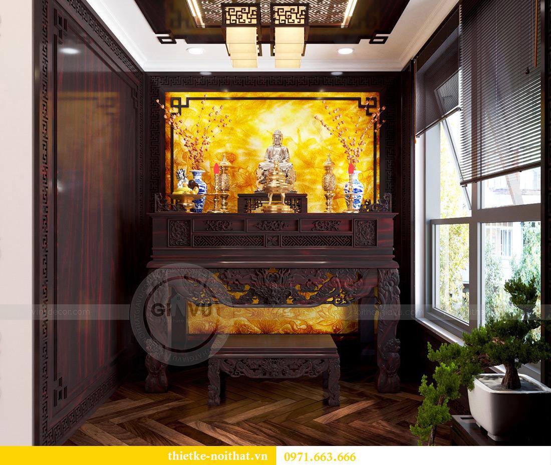 Thiết kế nội thất chung cư Vinhomes Mễ Trì căn 05 tòa G1 chị Lan 5