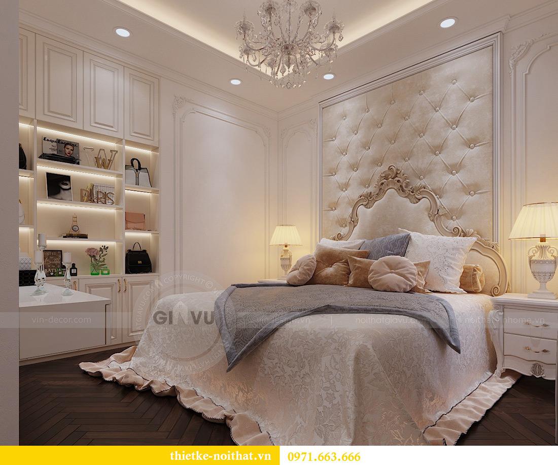 Thiết kế nội thất chung cư Vinhomes Mễ Trì căn 05 tòa G1 chị Lan 8