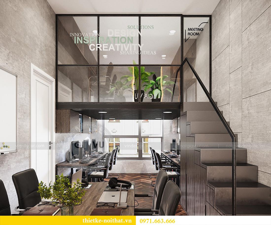 Thiết kế nội thất nhà ở kết hợp văn phòng công ty tại Hà Nội 11