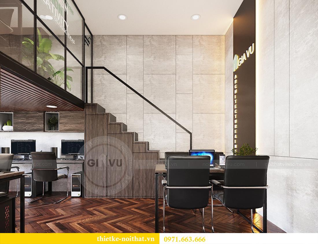 Thiết kế nội thất nhà ở kết hợp văn phòng công ty tại Hà Nội 12