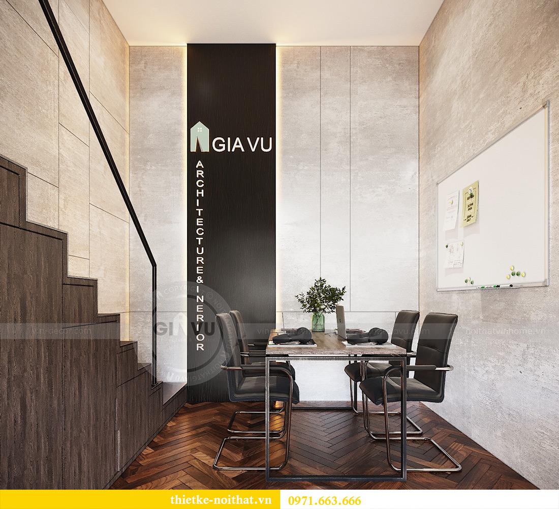 Thiết kế nội thất nhà ở kết hợp văn phòng công ty tại Hà Nội 13