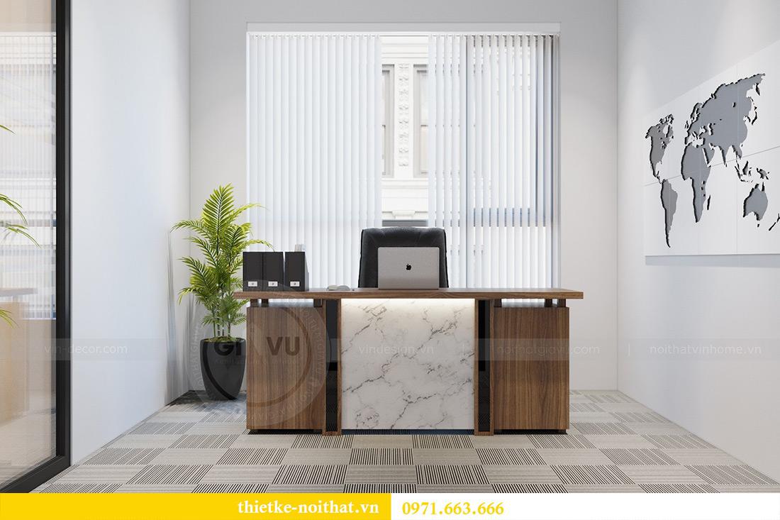Thiết kế nội thất văn phòng chung cư Green Bay tòa G3 - Anh Dũng 6