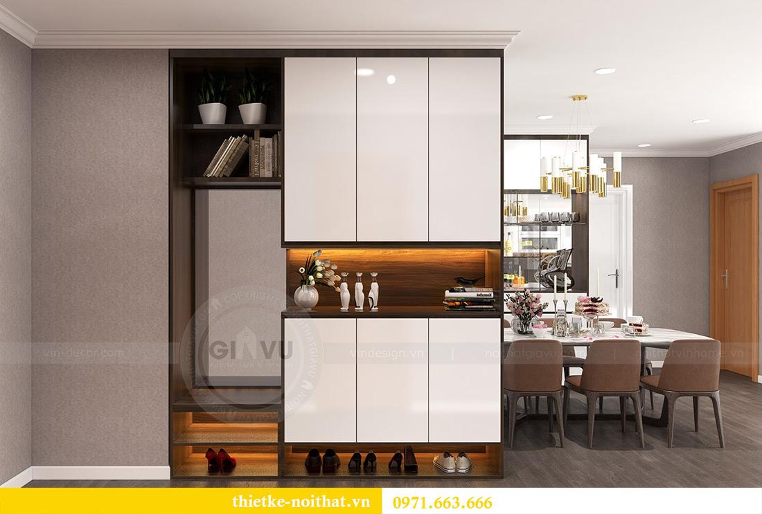 Thiết kế nội thất Vinhomes Sky Lake Phạm Hùng nhà chị Chinh 1