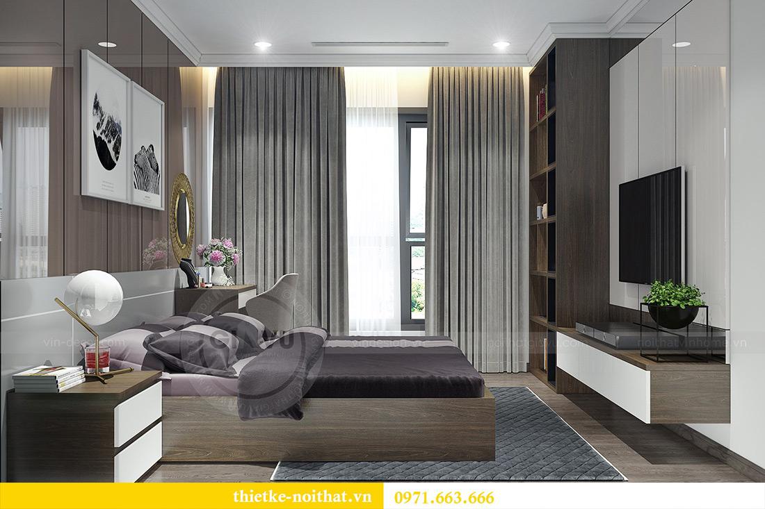 Thiết kế nội thất Vinhomes Sky Lake Phạm Hùng nhà chị Chinh 11