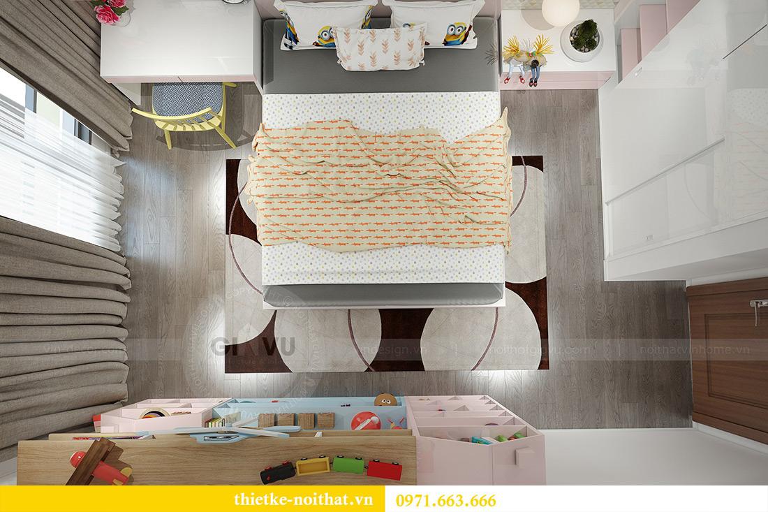 Thiết kế nội thất Vinhomes Sky Lake Phạm Hùng nhà chị Chinh 12
