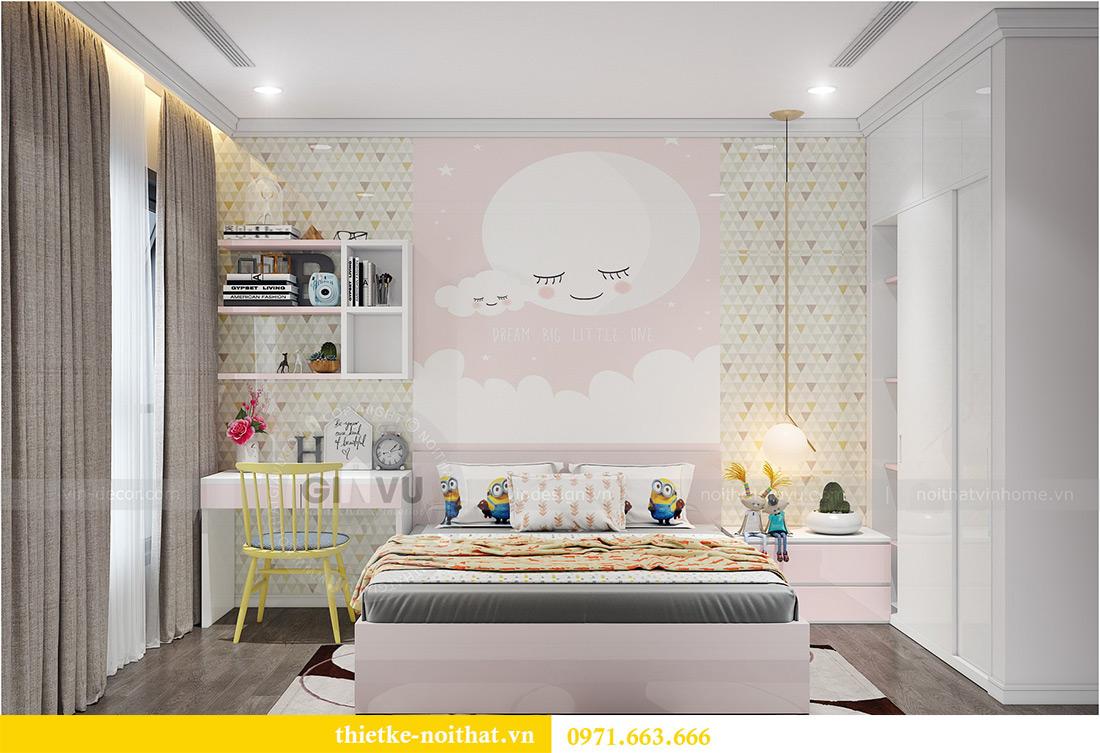 Thiết kế nội thất Vinhomes Sky Lake Phạm Hùng nhà chị Chinh 13