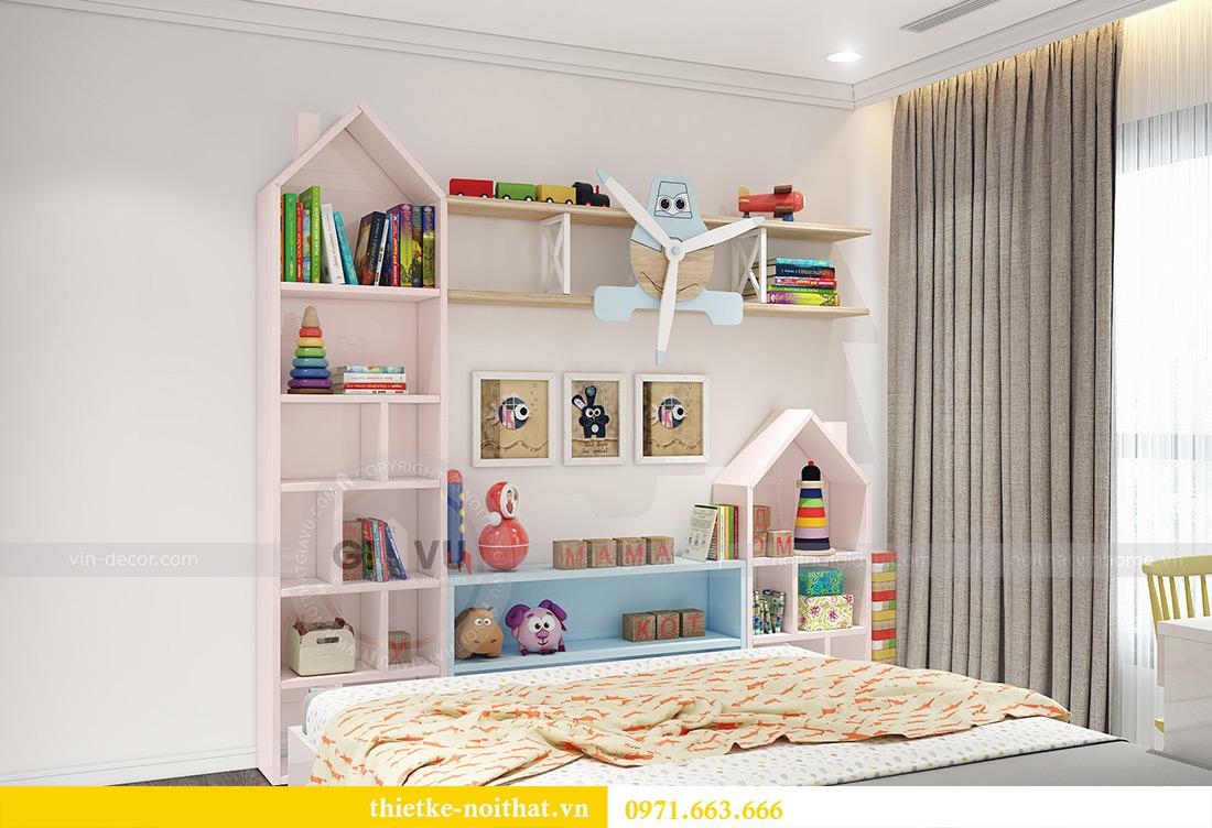 Thiết kế nội thất Vinhomes Sky Lake Phạm Hùng nhà chị Chinh 14