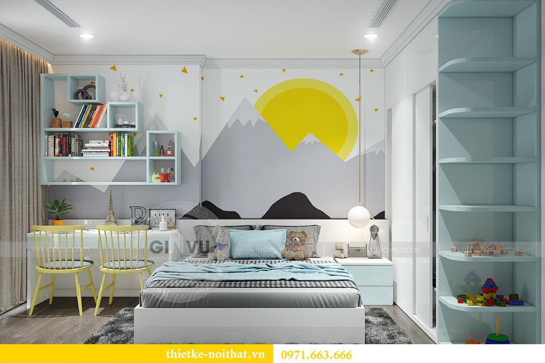Thiết kế nội thất Vinhomes Sky Lake Phạm Hùng nhà chị Chinh 16
