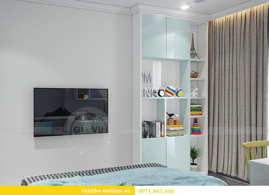 Thiết kế nội thất Vinhomes Sky Lake Phạm Hùng nhà chị Chinh 17
