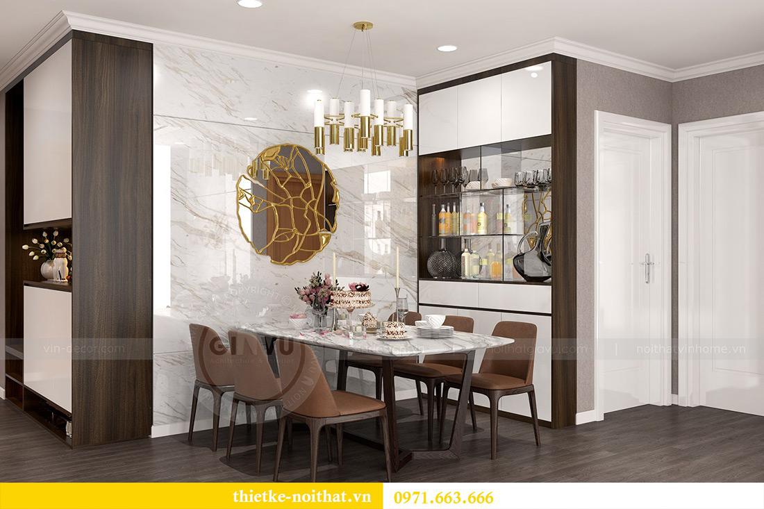 Thiết kế nội thất Vinhomes Sky Lake Phạm Hùng nhà chị Chinh 2