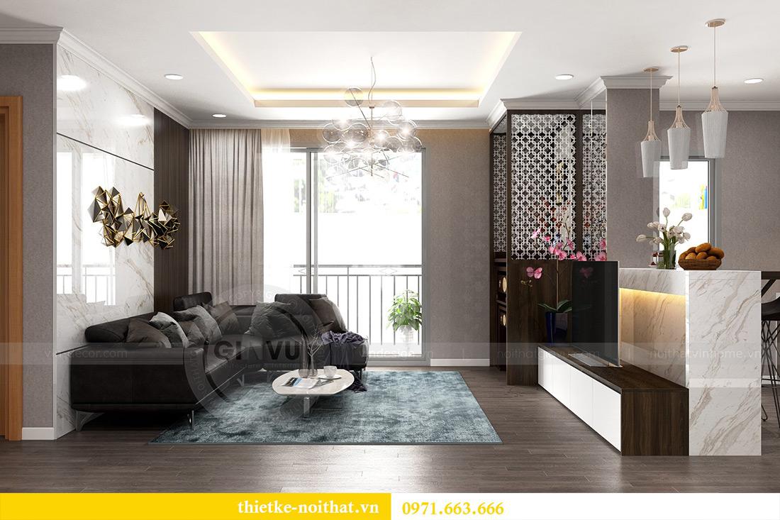 Thiết kế nội thất Vinhomes Sky Lake Phạm Hùng nhà chị Chinh 6