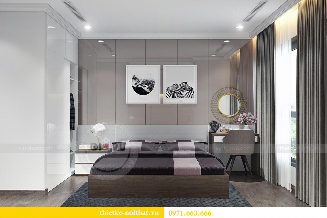 Thiết kế nội thất Vinhomes Sky Lake Phạm Hùng nhà chị Chinh 9