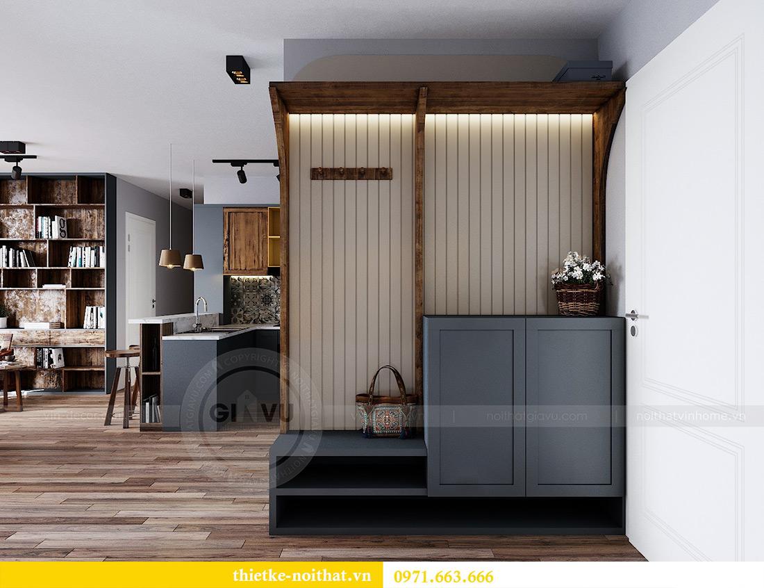 Tư vấn thiết kế và bố trí nội thất không gian phòng khách nhà chị Huyền 1