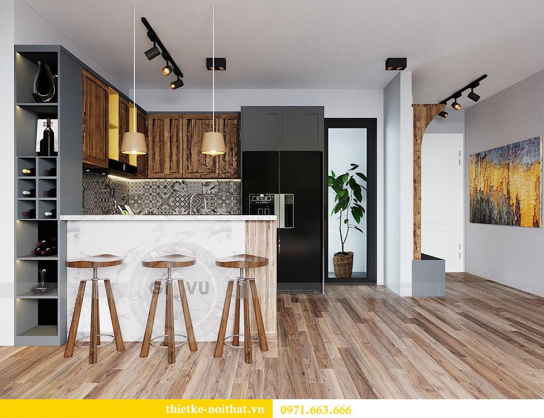 Tư vấn thiết kế và bố trí nội thất không gian phòng khách nhà chị Huyền 2