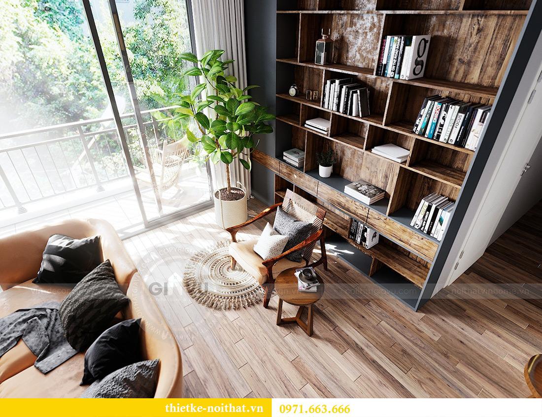 Tư vấn thiết kế và bố trí nội thất không gian phòng khách nhà chị Huyền 5