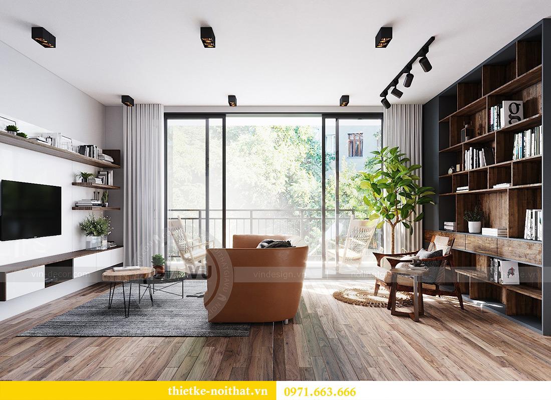Tư vấn thiết kế và bố trí nội thất không gian phòng khách nhà chị Huyền 6