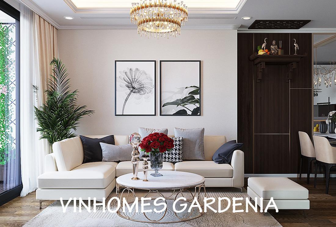 Thiết Kế Nội Thất Chung Cư Gardenia Tòa A2 Căn 03 – Anh Hưởng