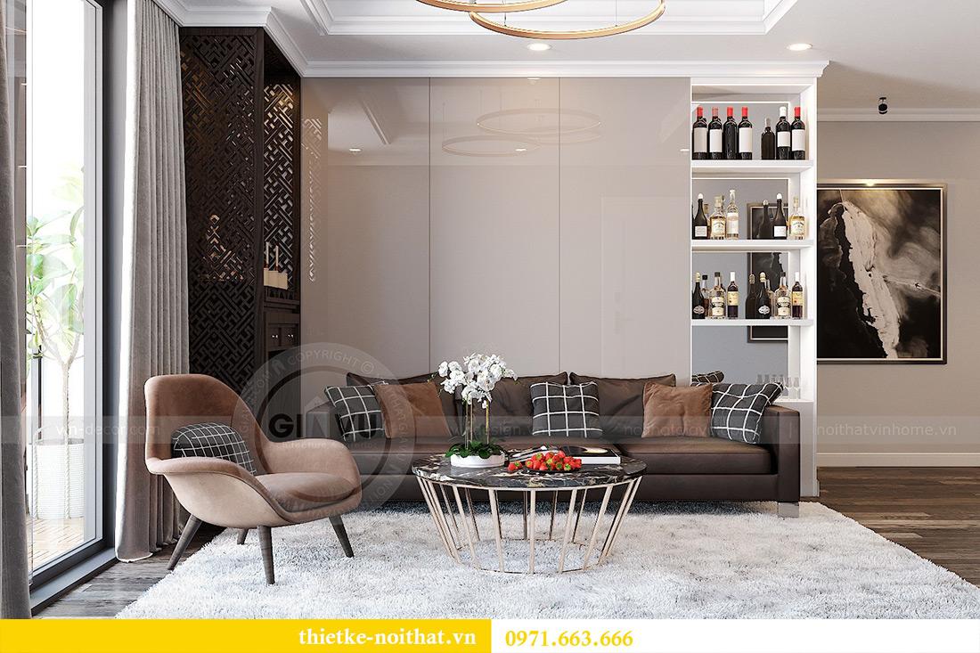 Thiết kế nội thất chung cư Park 7 căn 12B nhà anh Tân 1