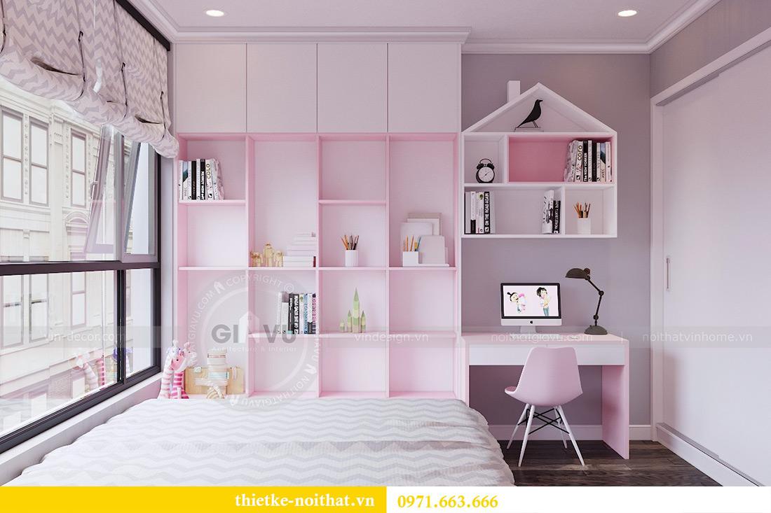 Thiết kế nội thất chung cư Park 7 căn 12B nhà anh Tân 10