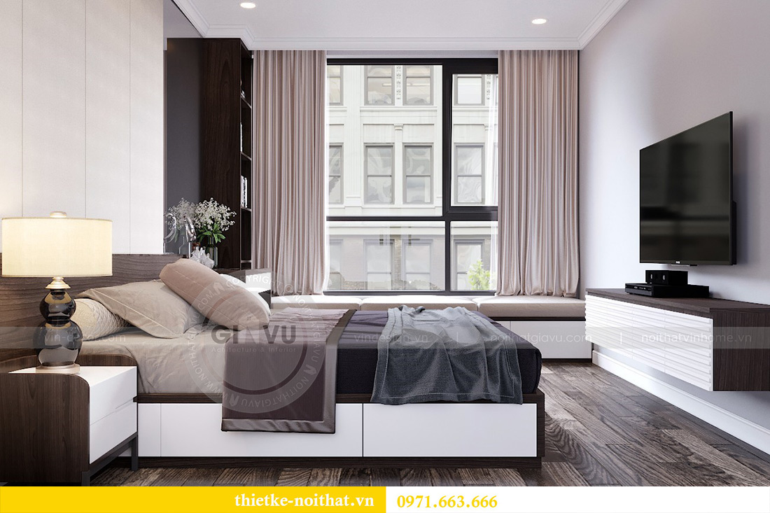 Thiết kế nội thất chung cư Park 7 căn 12B nhà anh Tân 8