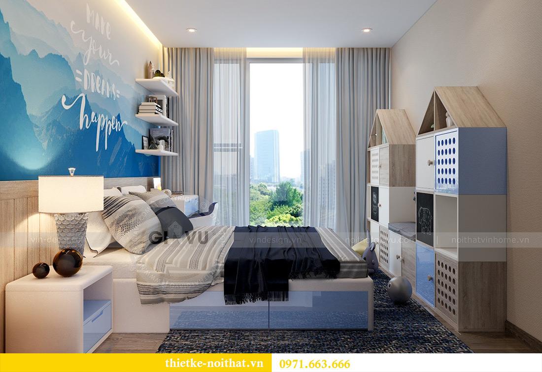 Thiết kế nội thất chung cư Vinhomes Metropolis tòa M2 căn 02 - chú Bình 11