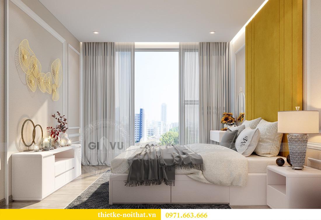 Thiết kế nội thất chung cư Vinhomes Metropolis tòa M2 căn 02 - chú Bình 14