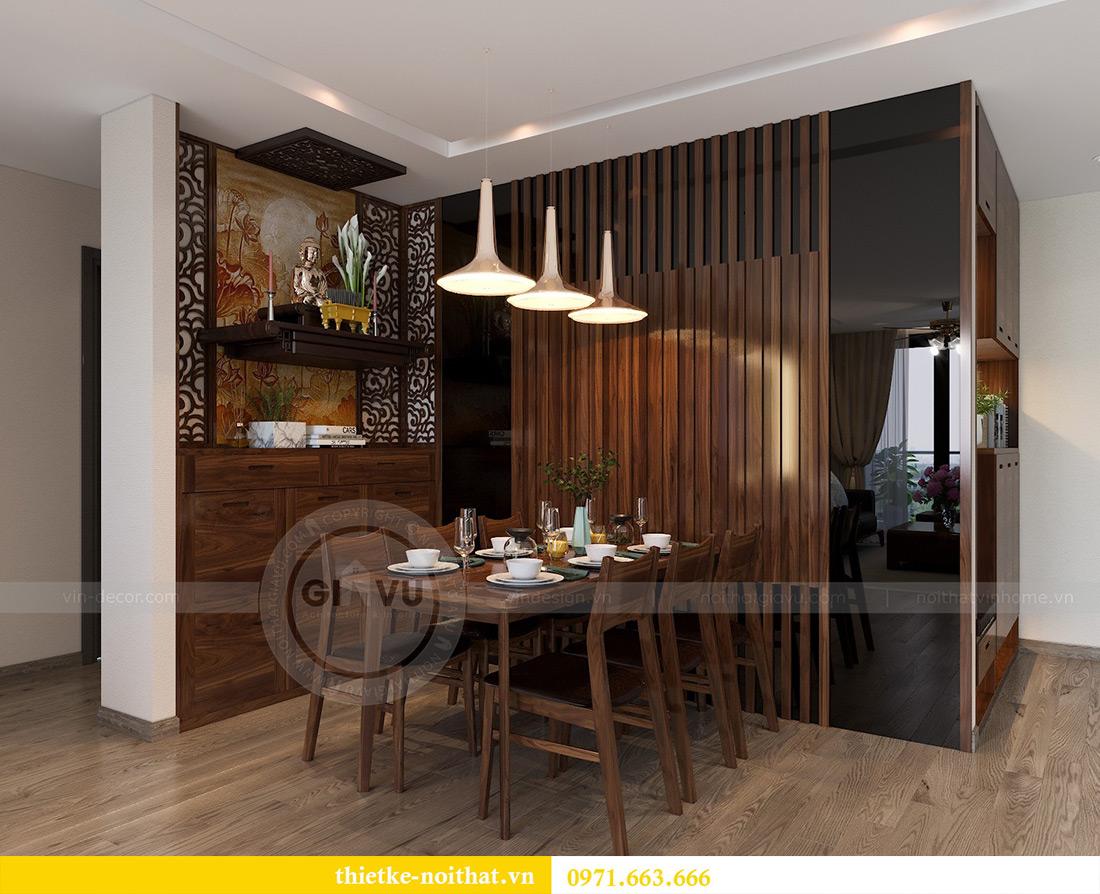 Thiết kế nội thất chung cư Vinhomes Metropolis tòa M2 căn 02 - chú Bình 2
