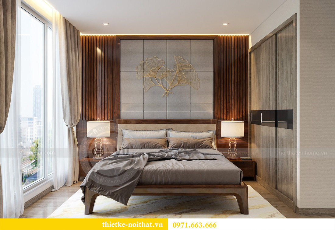 Thiết kế nội thất chung cư Vinhomes Metropolis tòa M2 căn 02 - chú Bình 6