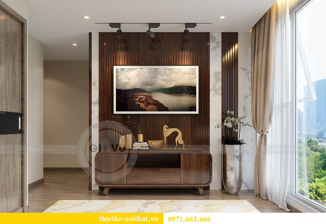 Thiết kế nội thất chung cư Vinhomes Metropolis tòa M2 căn 02 - chú Bình 7