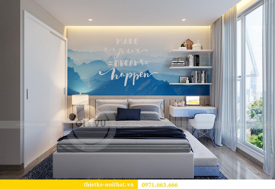 Thiết kế nội thất chung cư Vinhomes Metropolis tòa M2 căn 02 - chú Bình 9