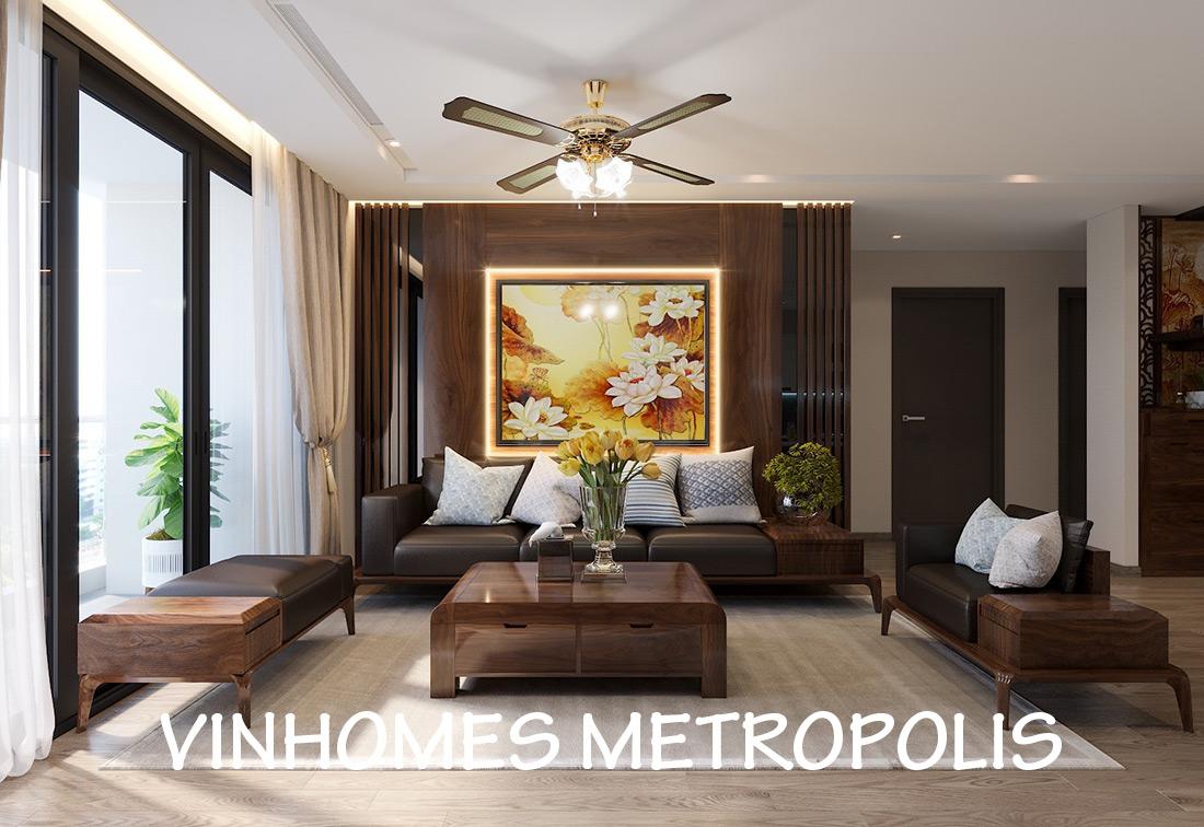 Thiết Kế Nội Thất Chung Cư Vinhomes Metropolis Tòa M2 Căn 02 – Chú Bình
