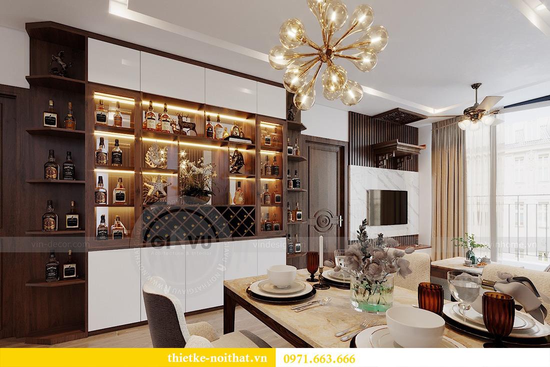 Thiết kế nội thất Metropolis tòa M3 căn 01 nhà anh Thịnh 3