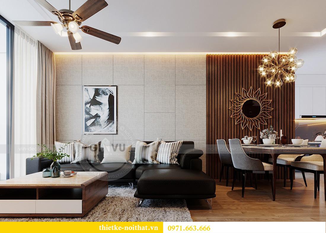 Thiết kế nội thất Metropolis tòa M3 căn 01 nhà anh Thịnh 4