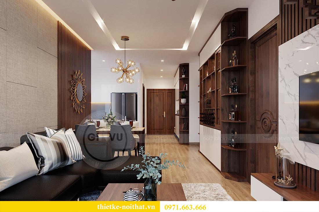 Thiết kế nội thất Metropolis tòa M3 căn 01 nhà anh Thịnh 6