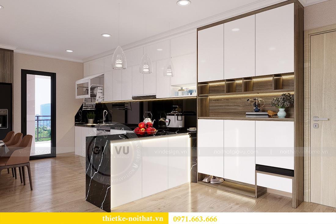Thiết kế thi công nội thất chung cư Gardenia căn 12B tòa A2 - chị Hà 1