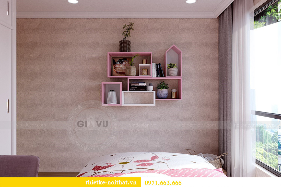 Thiết kế thi công nội thất chung cư Gardenia căn 12B tòa A2 - chị Hà 10