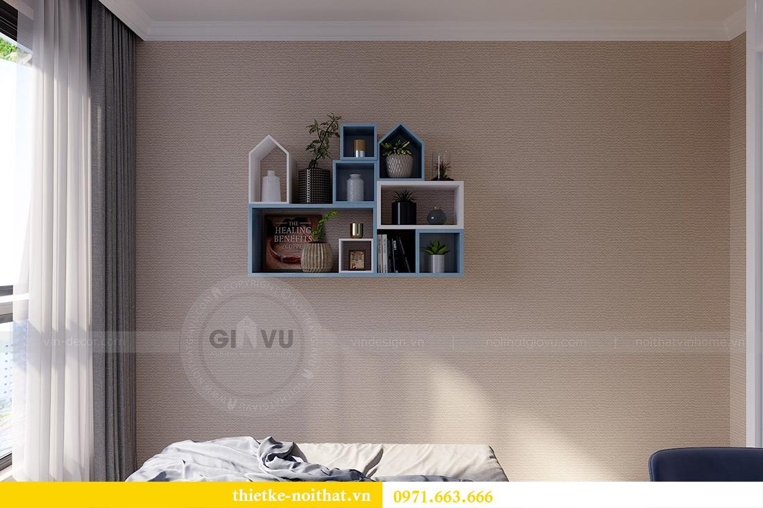 Thiết kế thi công nội thất chung cư Gardenia căn 12B tòa A2 - chị Hà 12