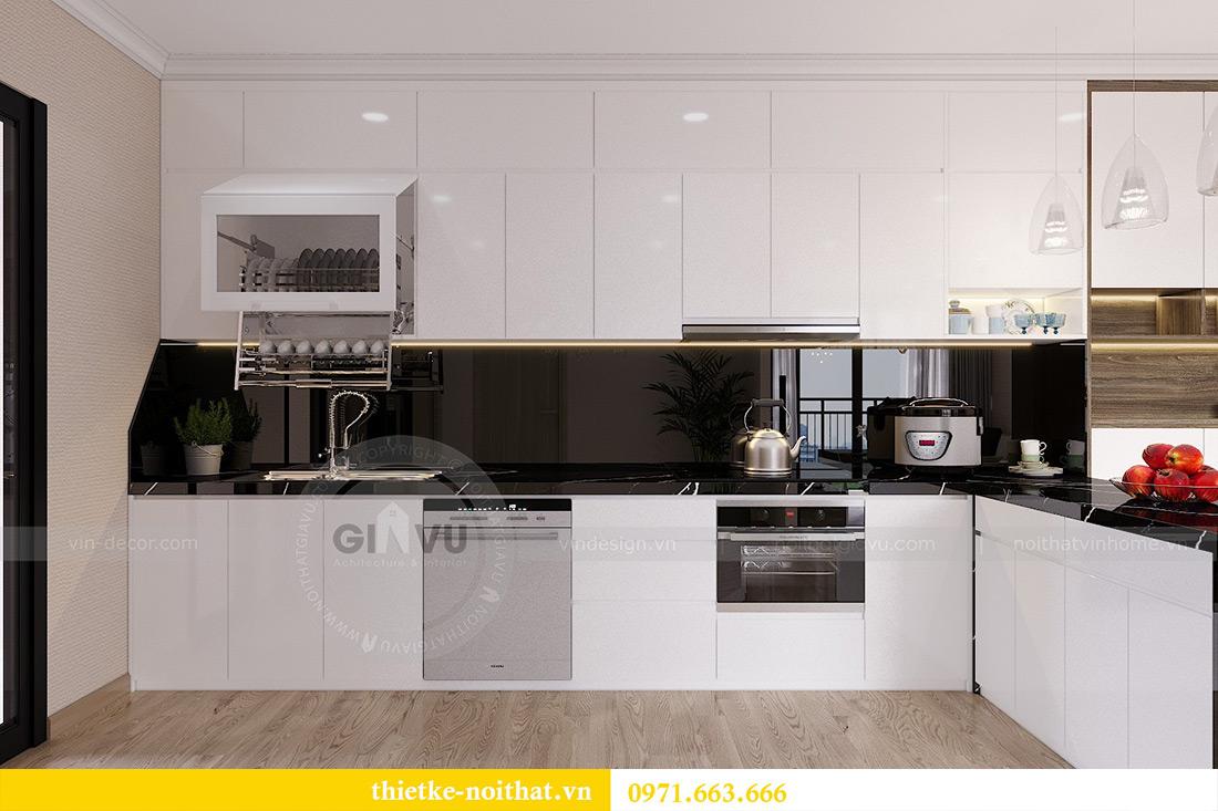 Thiết kế thi công nội thất chung cư Gardenia căn 12B tòa A2 - chị Hà 2