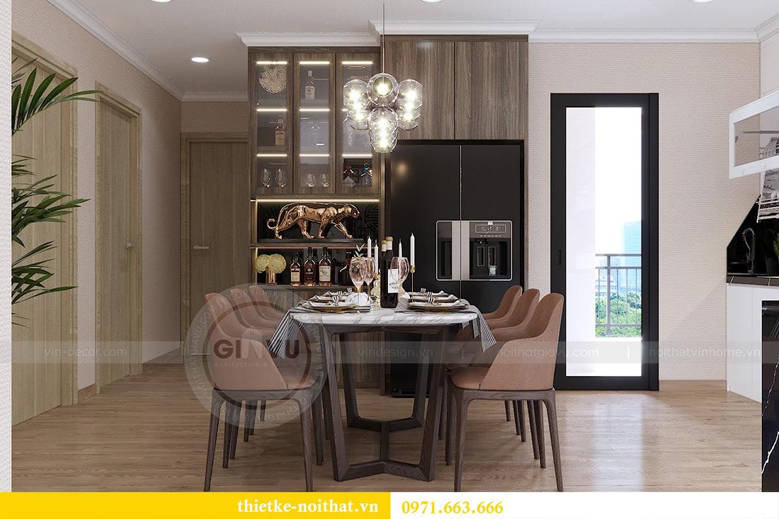Thiết kế thi công nội thất chung cư Gardenia căn 12B tòa A2 - chị Hà 3