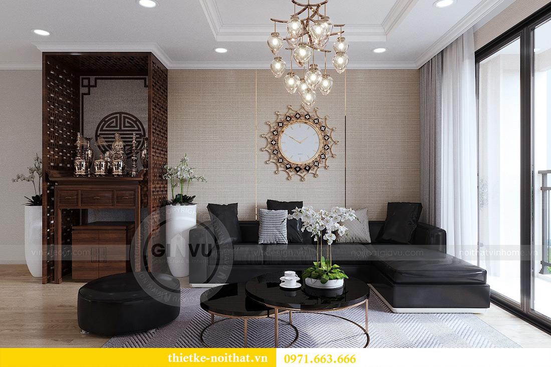 Thiết kế thi công nội thất chung cư Gardenia căn 12B tòa A2 - chị Hà 4