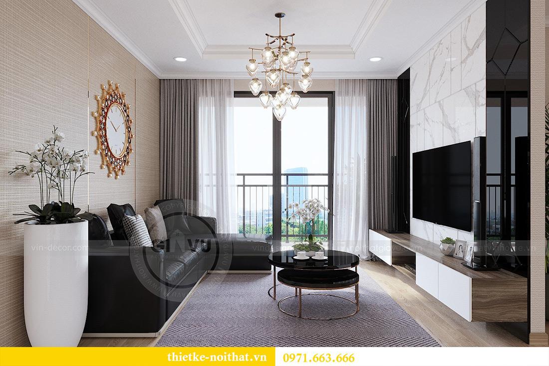 Thiết kế thi công nội thất chung cư Gardenia căn 12B tòa A2 - chị Hà 5