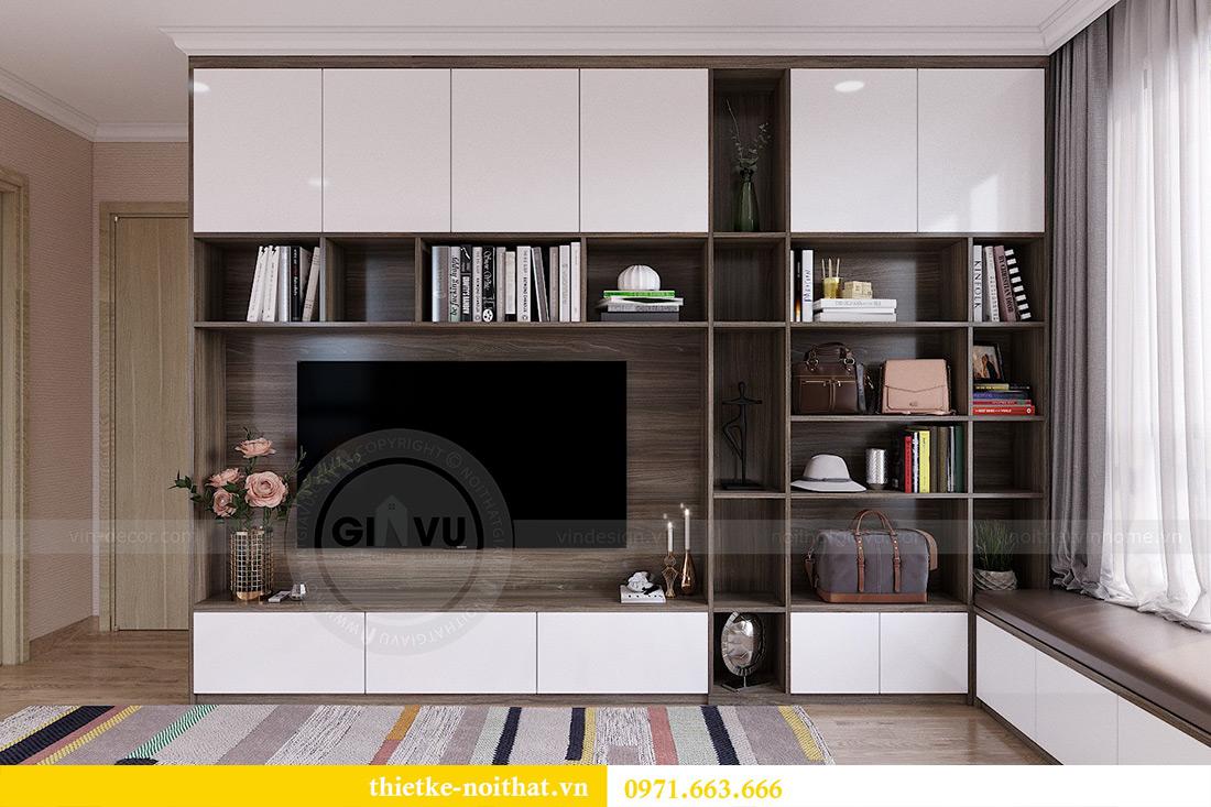 Thiết kế thi công nội thất chung cư Gardenia căn 12B tòa A2 - chị Hà 7