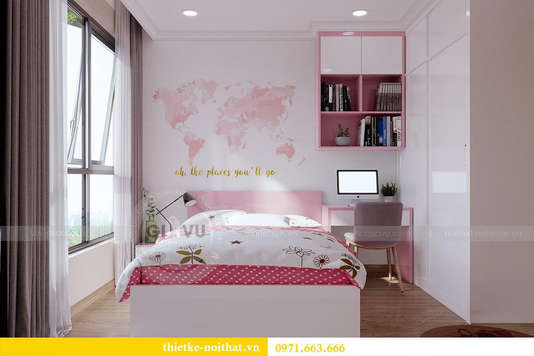 Thiết kế thi công nội thất chung cư Gardenia căn 12B tòa A2 - chị Hà 9