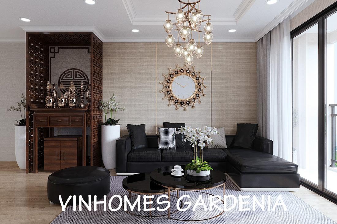 Thiết Kế Thi Công Nội Thất Chung Cư Gardenia Căn 12B Tòa A2 – Chị Hà