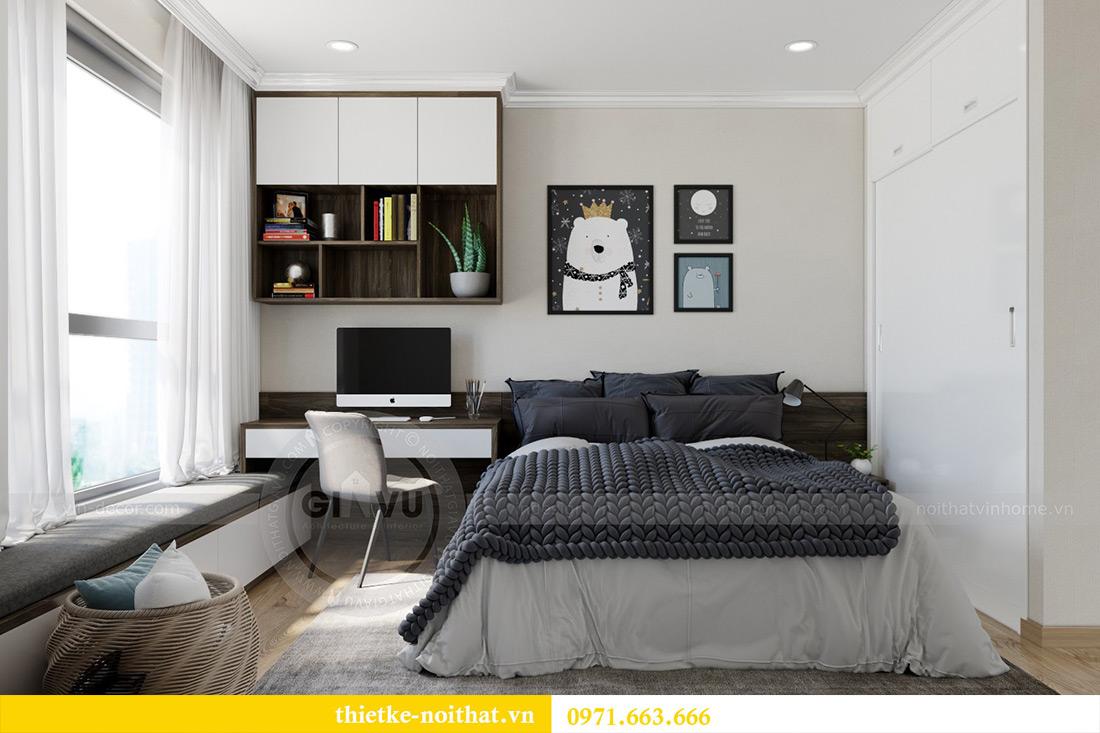 Thiết kế thi công nội thất chung cư Park Hill 12 căn 07 nhà anh Hùng 12